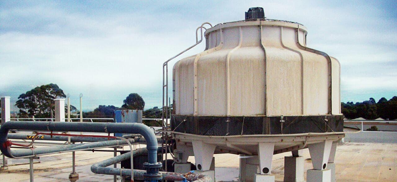 سیستم برج خنک کننده مرکزی
